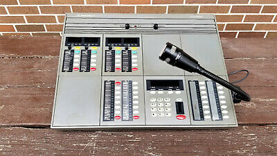 Motorola Commandstar Dispatch Console Desktop Sr2 With Shure Vr300 Mic