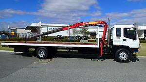 Isuzu FVR 8 Tonne Crane Truck. Welshpool Canning Area Preview