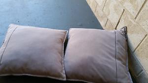 Three grey cushions Everton Hills Brisbane North West Preview