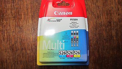 Canon CLI-526 C/M/Y Multi-Pack cyan/magenta/yellow  online kaufen
