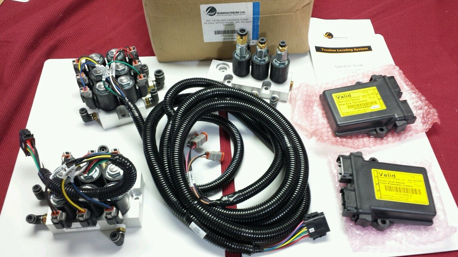 VTL01K056-CC kit15968 Valid Manufacturing RV leveling system Monaco chassis. NEW