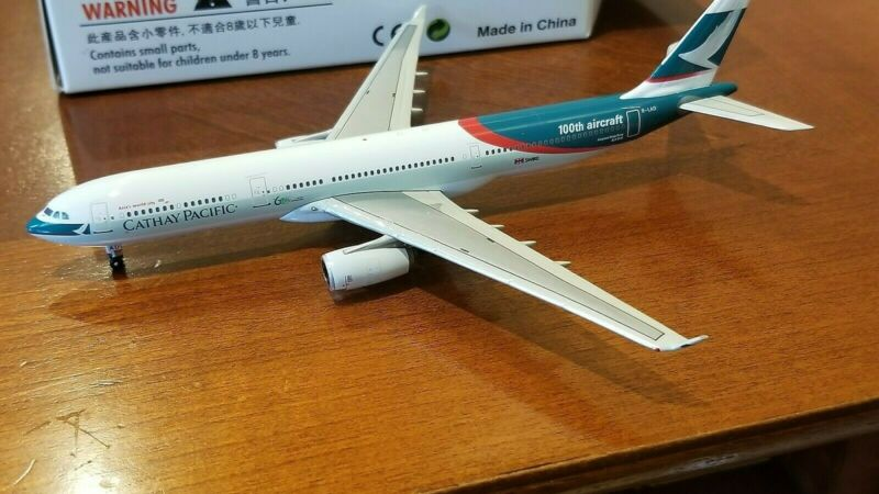 Phoenix Models Cathay Pacific A330-343X 1:400 PH4CPAXX 100th Aircraft Clrs B-LAD