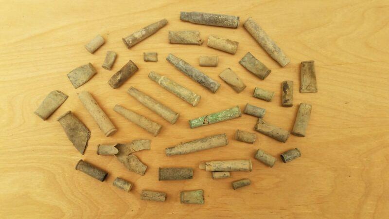 Dug Relics Old Brass W.R.A. Co. U. M. C. Co. Early Centerfire