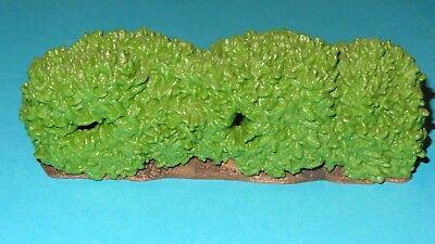 Schleich Hedge Bush 30659 Rare Vintage Display Decor to accompany Smurf Figures