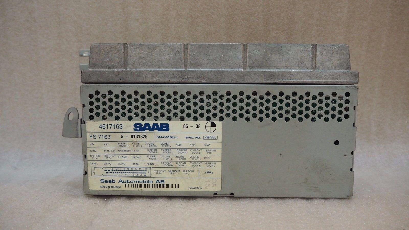 ORIGINAL USED SAAB 9-5 RADIO AMPLIFIER 4617163 #810