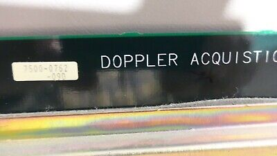 Philips Atl Hdi 3000 Ultrasound Doppler Acquisition Board 7500-0762-09d
