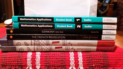 Year 11 and 12 ATAR text books