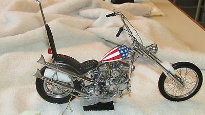 Franklin Mint Harley Davidson Easy Rider motorcycle die cast 1:10