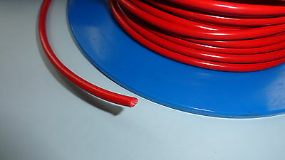 12v Cable 5m of 4.5mm² 42A Car Automotive Electrical Wiring RED