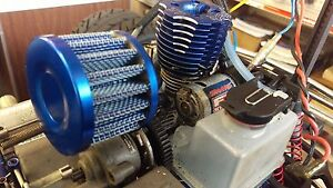 Aluminum Air filter for T-Maxx 2.5 / 3.3 , Jato 3.3, Nitro Rustler, Nitro 4-tec