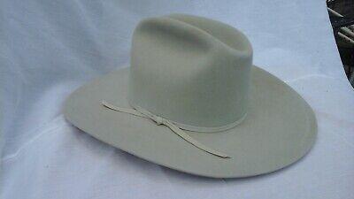 8e929e4a2b127 Resistol M.L. Leddy 6 5/8 Silver Belly Western Cowboy hat 4X beaver US made