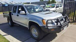 2009 Holden Colorado LX Duel Cab Tray Ute TURBO DIESEL 4X4 Williamstown North Hobsons Bay Area Preview