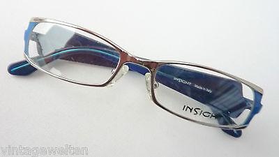 Ausgefallene Brille für Frauen breite Design-Bügel Brillengestelle neu Grösse S