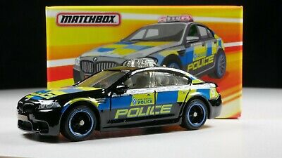 BMW M5 Police Keel District Ireland 1/64 Scale Diecast Diorama Car Real Riders