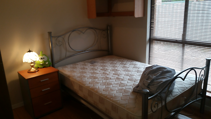 Double bed and matress good condition