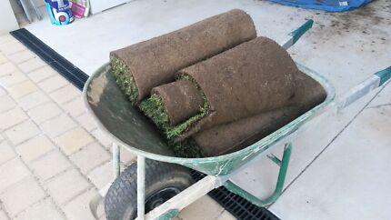 3 1/2 rolls Velvetene lawn Beldon Joondalup Area Preview