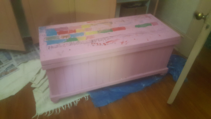 Wooden Toy or Blanket Box