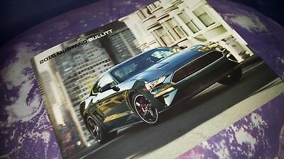 Ford Mustang Bullitt 2019 US Sales Brochure - A4 - 4 sides