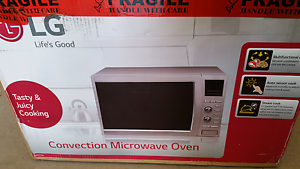LG 42L 900W S/S CONVECTION MICROWAVE OVEN  MC9280XC1 Capital Hill South Canberra Preview