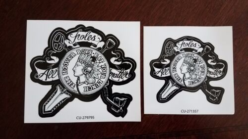 Metal Detecting Sticker / Decal The Hoover Boys All Holes Matter Large & Small
