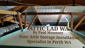 Attic Storage, by Attic Lad wa Mullaloo Joondalup Area Preview