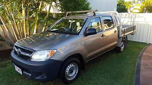 2005 Toyota Hilux Duel Cab V6 4.0 SR Ute Arundel Gold Coast City Preview