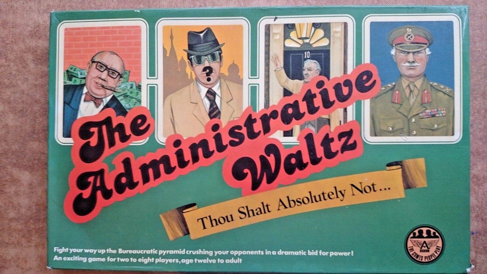 The Administrative Waltz Board Game 1979