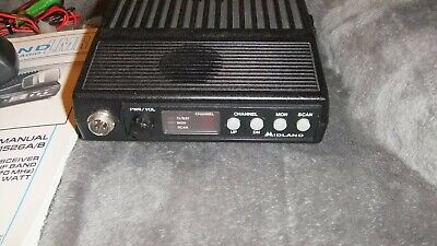 Midland 70-1526b Uhf 450-470 25w Radio Taxi Security