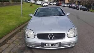 1998 Mercedes-Benz SLK230 Convertible South Melbourne Port Phillip Preview