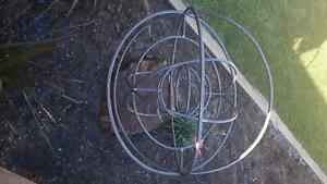 Garden metal art, Orb, sphere, Ball..