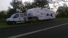 2012 Forest River Family Bunk caravan plus Iveco dual cab 2008 Gawler Belt Gawler Area Preview