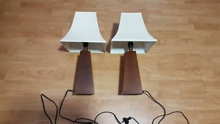 Pair lamp shades table desk lamps gumtree australia brisbane bedside lamp shades aloadofball Choice Image