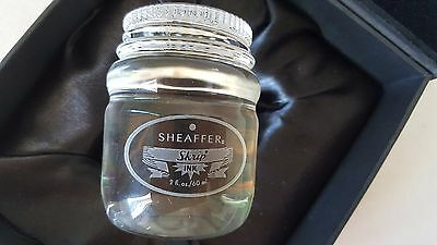 Sheaffer 100 Years Skirp Ink Bottle Glass/Crystal Display/Paper Weight ~ NEW!!!!