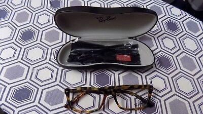 Ray Ban RB5287 Men's Tortoise Rx Designer Eyeglasses Frames 54/18/145