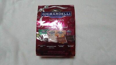 Ghirardelli Chocolate Squares Holiday Ltd Edition Assortment 15.11 Oz XL Bag