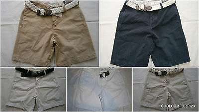 NWT Abercrombie & Fitch Boulder Brook Cargo Shorts With Braided Belt 31 32 36 - Boulder Cargo