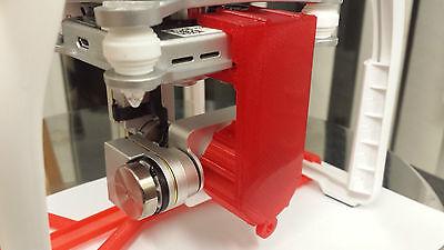 DJI Phantom 3 Pro/Adv/Standard Combined  Lens cover and Gimbal lock Flexible