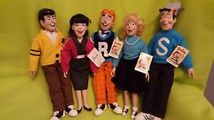 ARCHIE COMICS DOLLS - Set of 5 Vintage Dolls New with Tags
