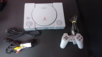 PS1 PlayStation 1 Original Video Game Console Tested