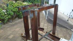 TRESSELS X2- HEAVY  STEEL CONSTRUCTION for worksite/shed/workshop