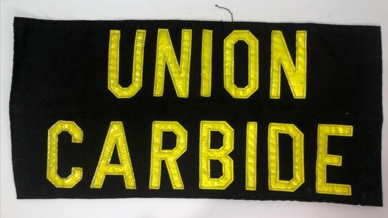Union Carbide  Firefighter Turnout Gear Patch