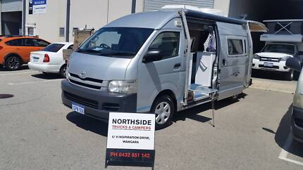 TOYOTA HIACE AUTO DIESEL SHOWER /TOILET AIR CON 12MTHS WARANTY Wangara Wanneroo Area Preview