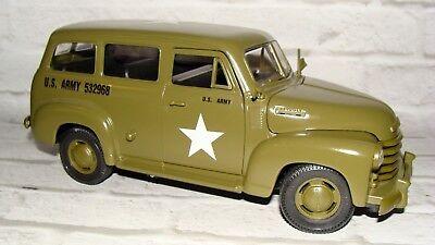 Weltkrieg Metall US Armee Chevrolet Suburban Passt (Armee Passt)