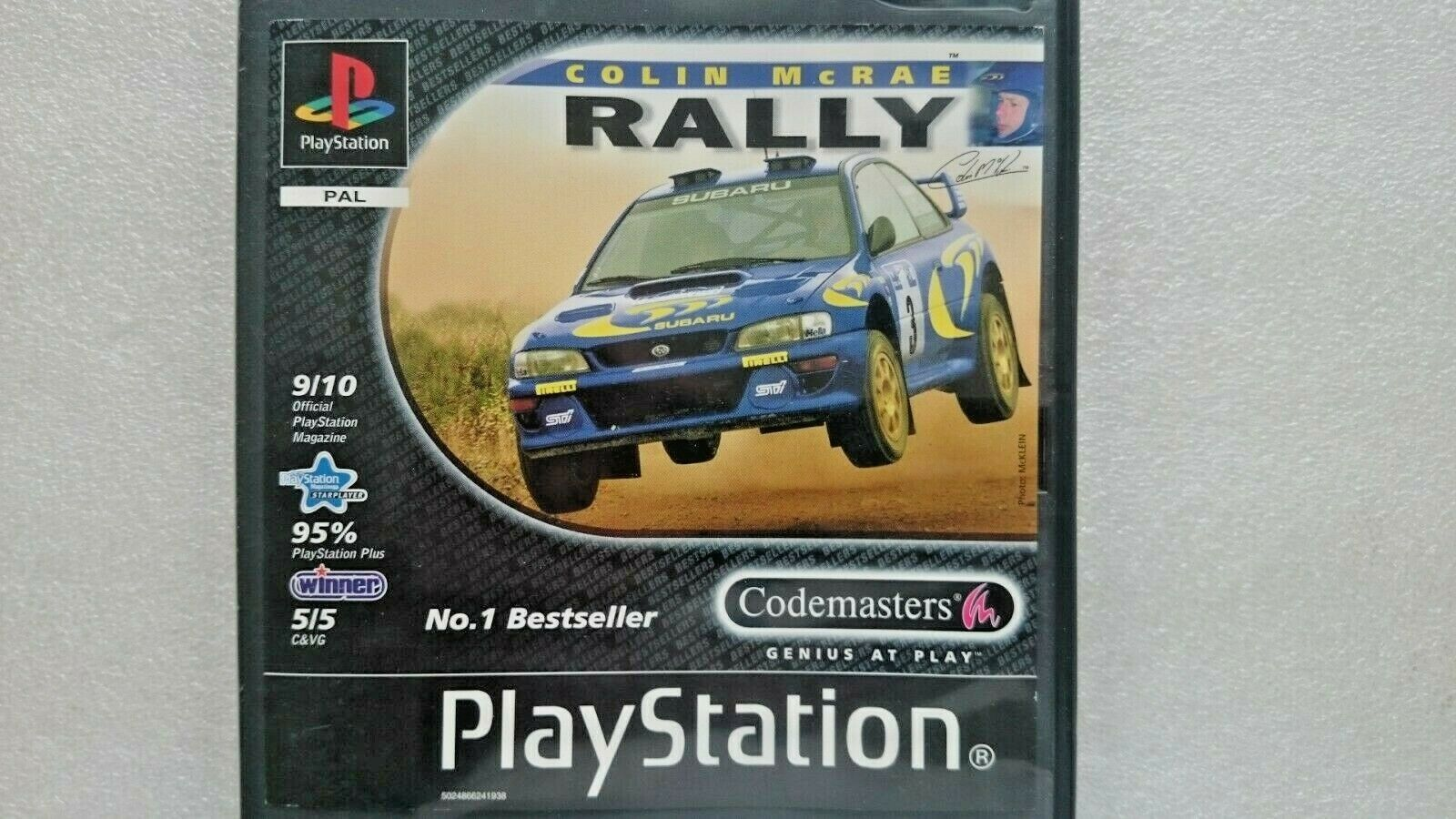 Colin McRae Rally (Sony Playstation One 2001)