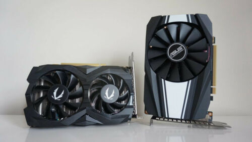ASUS GeForce GTX 1660 6GB Phoenix OC PH-GTX1660-O6G Video Graphics Card GPU