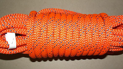 """NEW 3/8"""" (10mm) x 55' Kernmantle Static Line, Climbing Rope"""