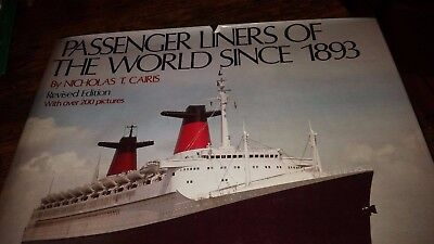 Passenger Liners of the World by Outlet Book Company Staff 1988 Hardcover w DJ](Party World Outlet)