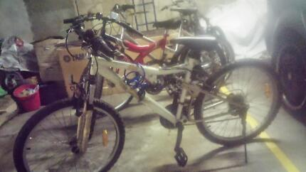 5 bikes for sale. 185 for all 5 Enfield Burwood Area Preview