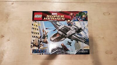 NEW Sealed Box! LEGO 6869 Super Heroes Quinjet Aerial Battle