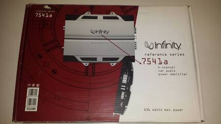 Infinity Reference 7541a 4-channel amplifier not Alpine Pioneer Westmead Parramatta Area Preview